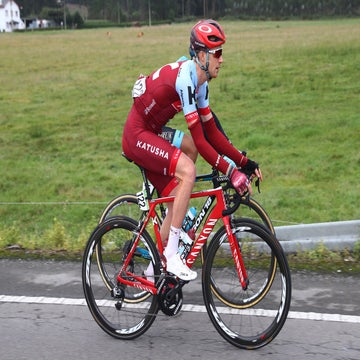 Boswell has high hopes at Vuelta despite early crash