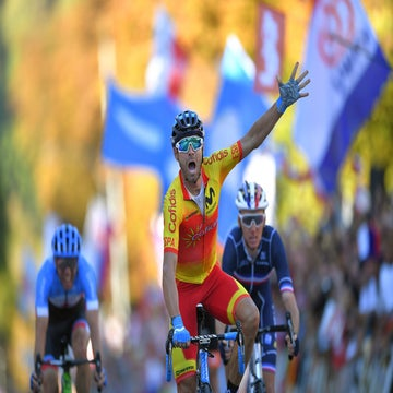 Valverde takes world title in four-man final sprint