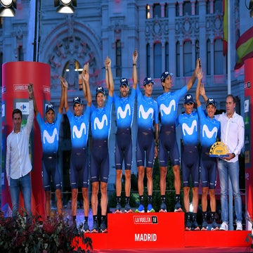 Vuelta: With mixed emotions, Movistar finishes off GC podium