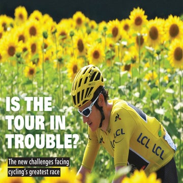 VeloNews magazine — September/October 2018