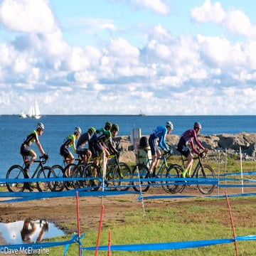 CX Gallery: Noble, White win slippery day 1 at GP Gloucester