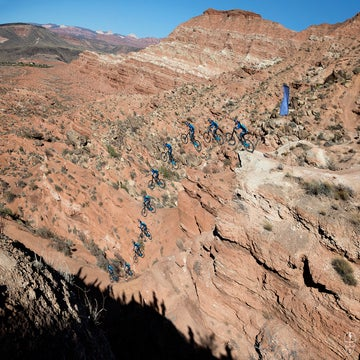 Red Bull Rampage 2018 photos: Flipping, flying, and falling through the desert
