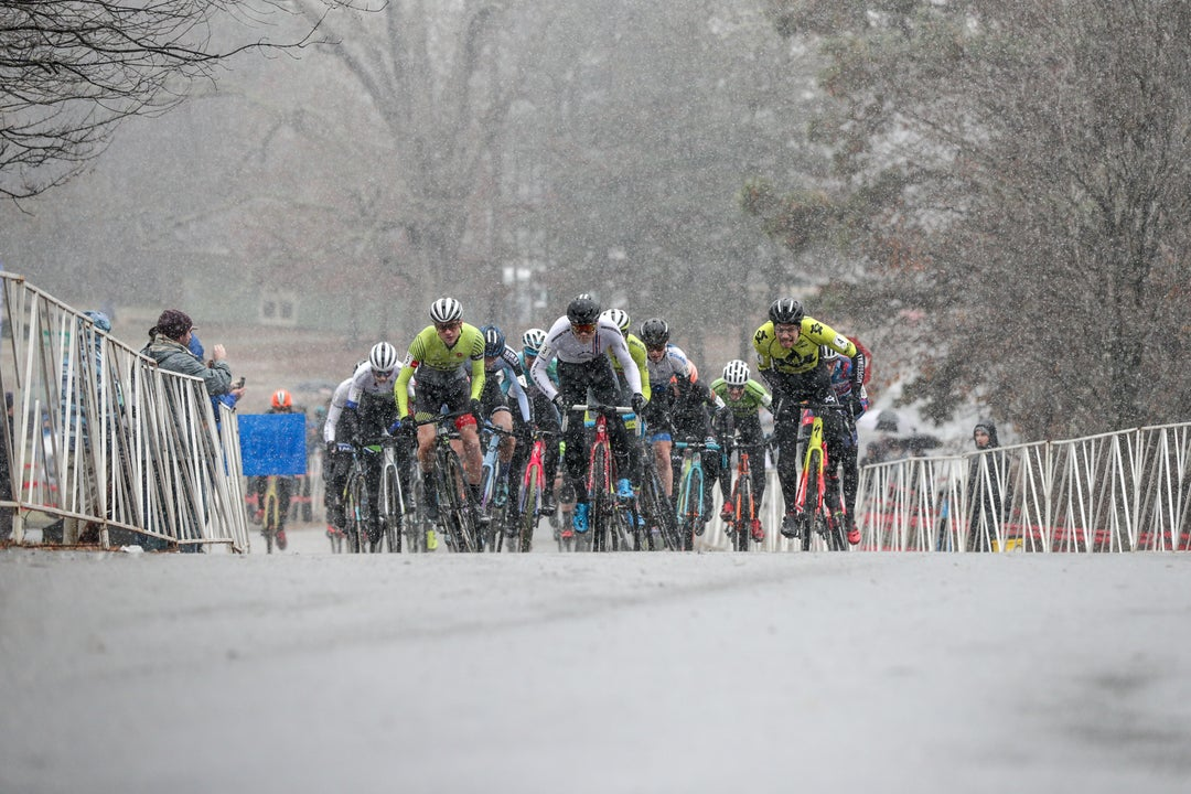 Williams and Werner survive the snow to win at North Carolina GP