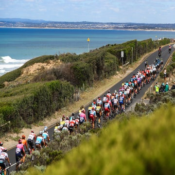 Cadel Evans Great Ocean Road Race finds its groove