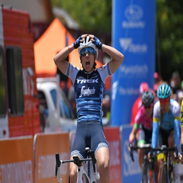 Women's Tour Down Under, stage 1: Paternoster wins opening sprint