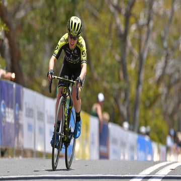 Women's Tour Down Under stage 2: Spratt climbs into overall lead
