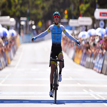 Sierra's aggressive performance rewarded with victory at Cadel Evans Great Ocean Road Race