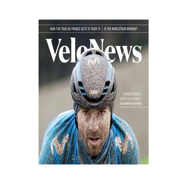 Presenting the redesigned VeloNews magazine