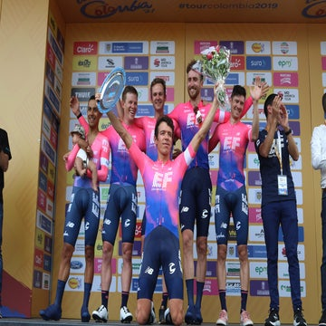 Colombia: EF Education First wins stage 1 TTT, Urán leads GC