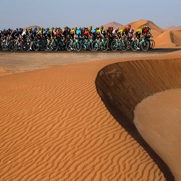 Think the UAE Tour is a training race? Think again