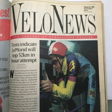 VN Archives: LeMond's 1991 hour record attempt
