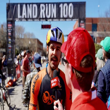 Q&A: How Payson McElveen won Land Run with boredom and a track-stand sprint
