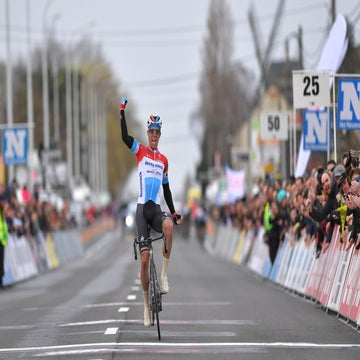 Jungels time trials to solo victory in Kuurne-Brussels-Kuurne