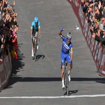 Strade Bianche: Alaphilippe pounces on final climb to take the win