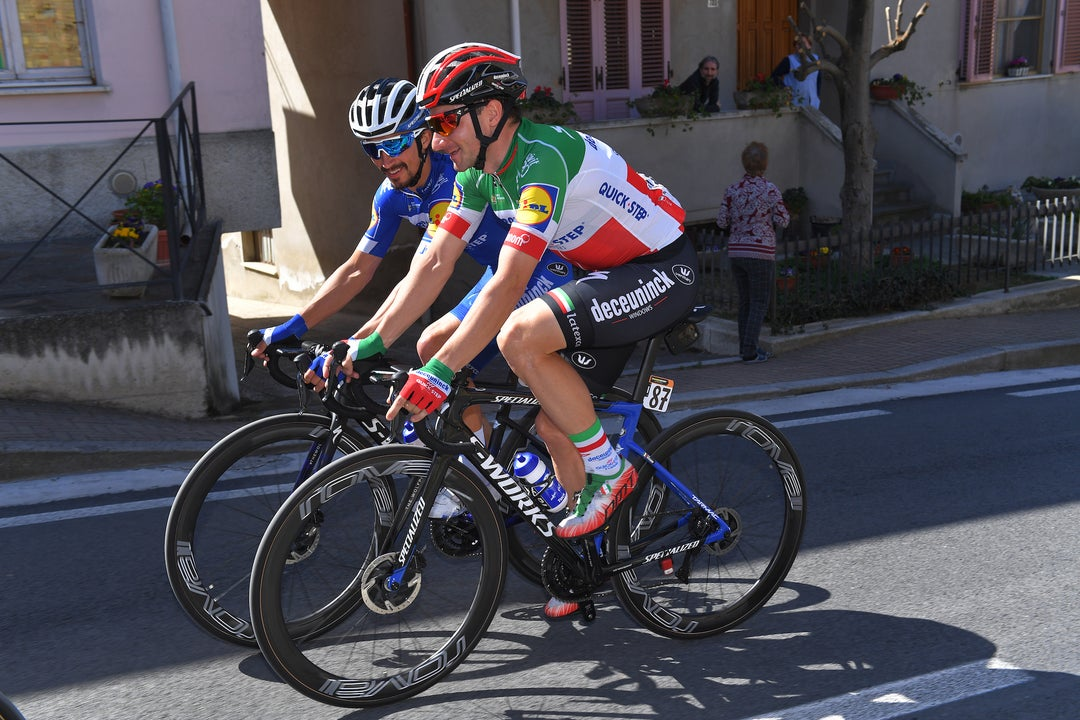 Alaphilippe, Viviani ready to play favorites at Sanremo