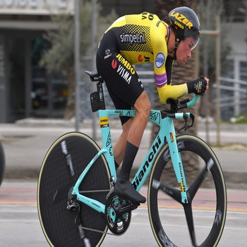 Tirreno stage 7: Roglic wins GC by a whisker in final TT