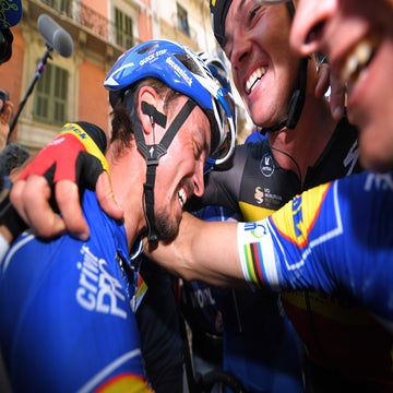 Alaphilippe takes maiden monument at Milano-Sanremo