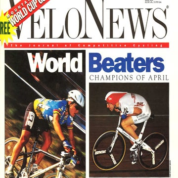 VN Archives: Obree smashes Boardman's hour record in 1994