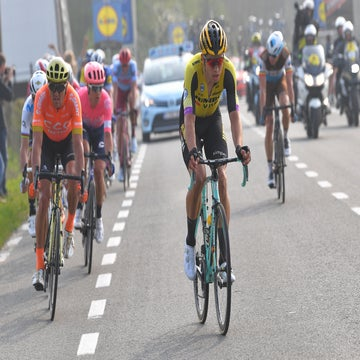 Sagan wouldn't cooperate to catch Bettiol, says Van Aert