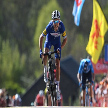 Alaphilippe seeking redemption on the Mur de Huy