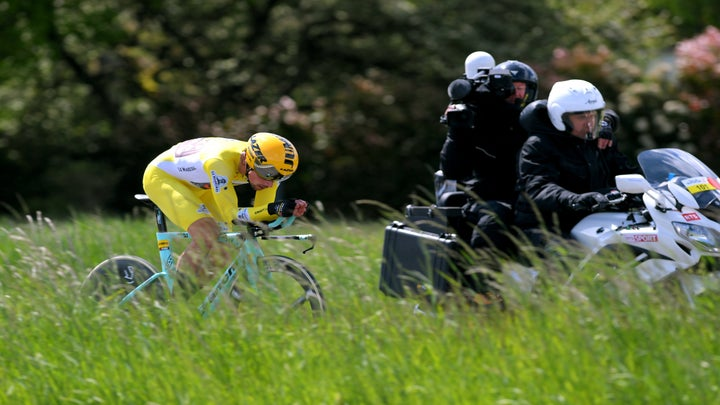 check out b2c18 6caa6 Roglic reigns in Romandie, taking final stage time trial and securing  overall