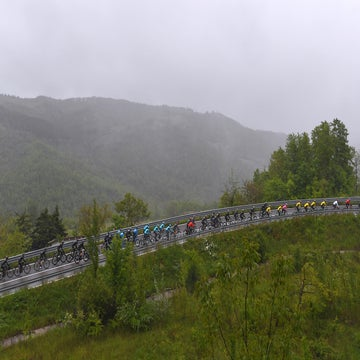 Bad weather will add difficulty to Giro mountain stages