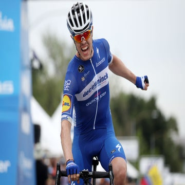 Deceuninck unleash powerful youngsters on California peloton