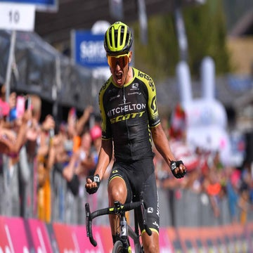 Giro d'Italia stage 19: Chaves bounces back to victory