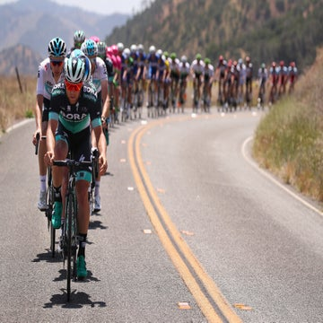 Tour of California: How wide American roads shape the race