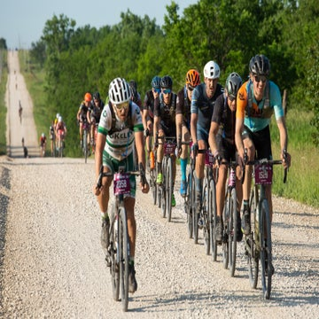 Propelled by generosity at Dirty Kanza 200