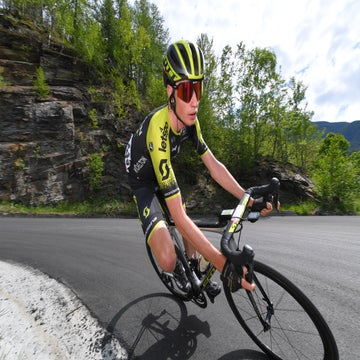 Australia's next big star? Lucas Hamilton impresses in grand tour debut
