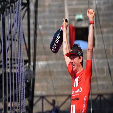 Giro stage 21: Haga snatches surprise win while Carapaz claims the pink jersey