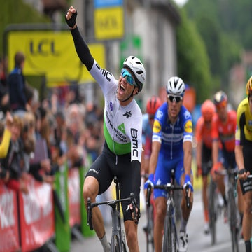 Dauphine stage 1: Boasson Hagen takes sprint win and leader's jersey