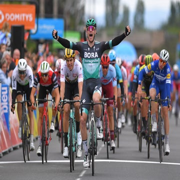 Dauphiné stage 3: Sam Bennett beats Van Aert in sprint