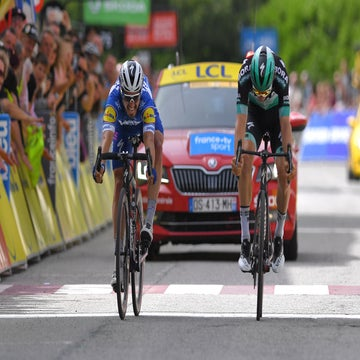 Dauphiné stage 6: Julian Alaphilippe wins by inches
