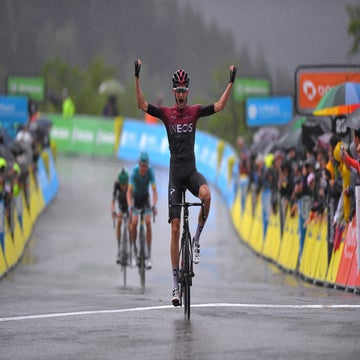 Dauphine stage 7: Poels takes summit finish