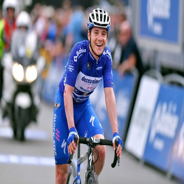 At 19, Remco Evenepoel is living up to the hype