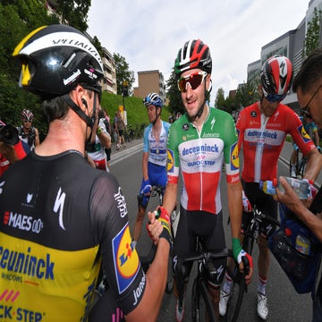 Tour de Suisse stage 4: Viviani gets his win as Thomas crashes out