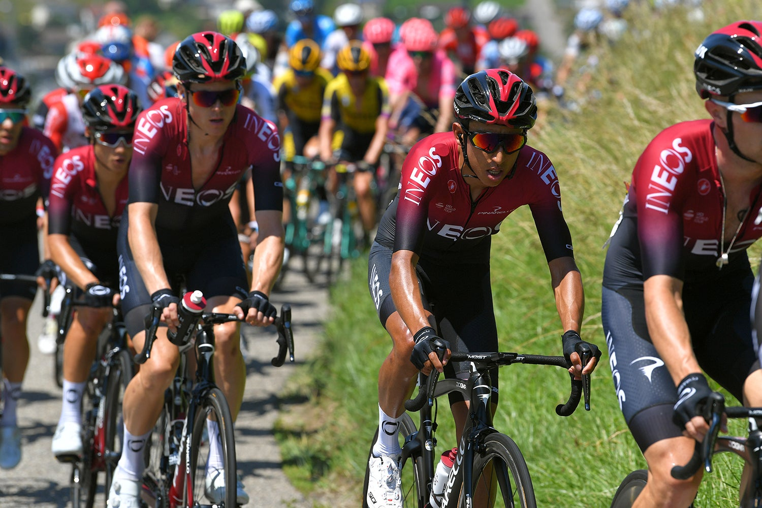 Bernal poised to climb into spotlight as Ineos scrambles after costly crashes ? VeloNews.com