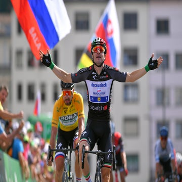 Tour de Suisse stage 5: Viviani wins again, Sagan keeps yellow