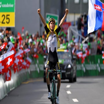Tour de Suisse stage 6: Tolhoek claims summit victory as Bernal takes yellow