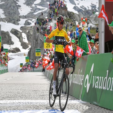 Tour de Suisse stage 7: Bernal wins atop San Gottardo to boost GC lead