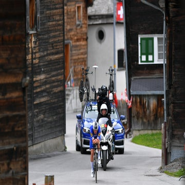 Tour de Suisse stage 8:  Lampaert wins TT, Bernal defends yellow jersey