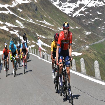Dennis finds his climbing legs in Switzerland