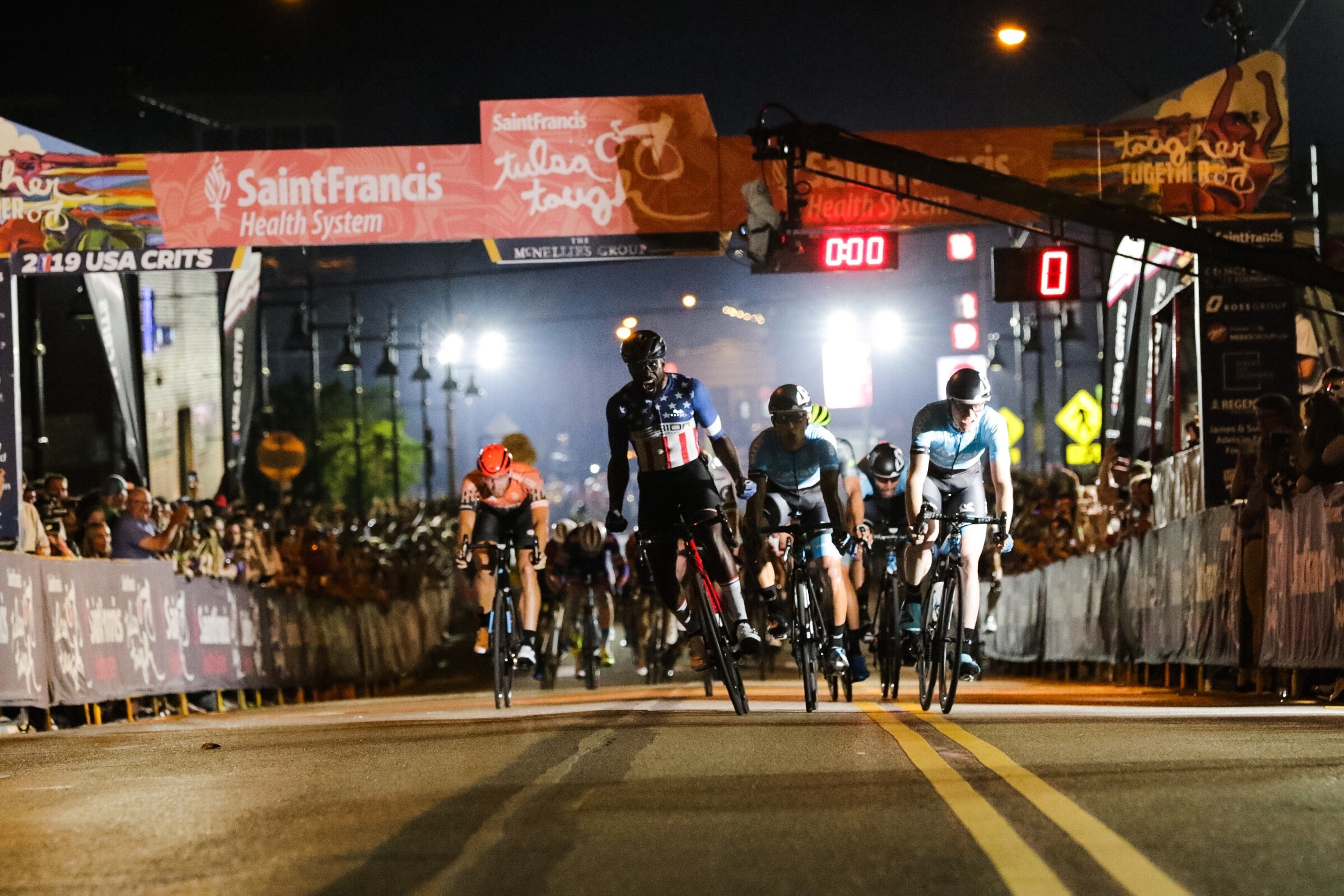 Justin Williams wins back-to-back races at Tulsa Tough