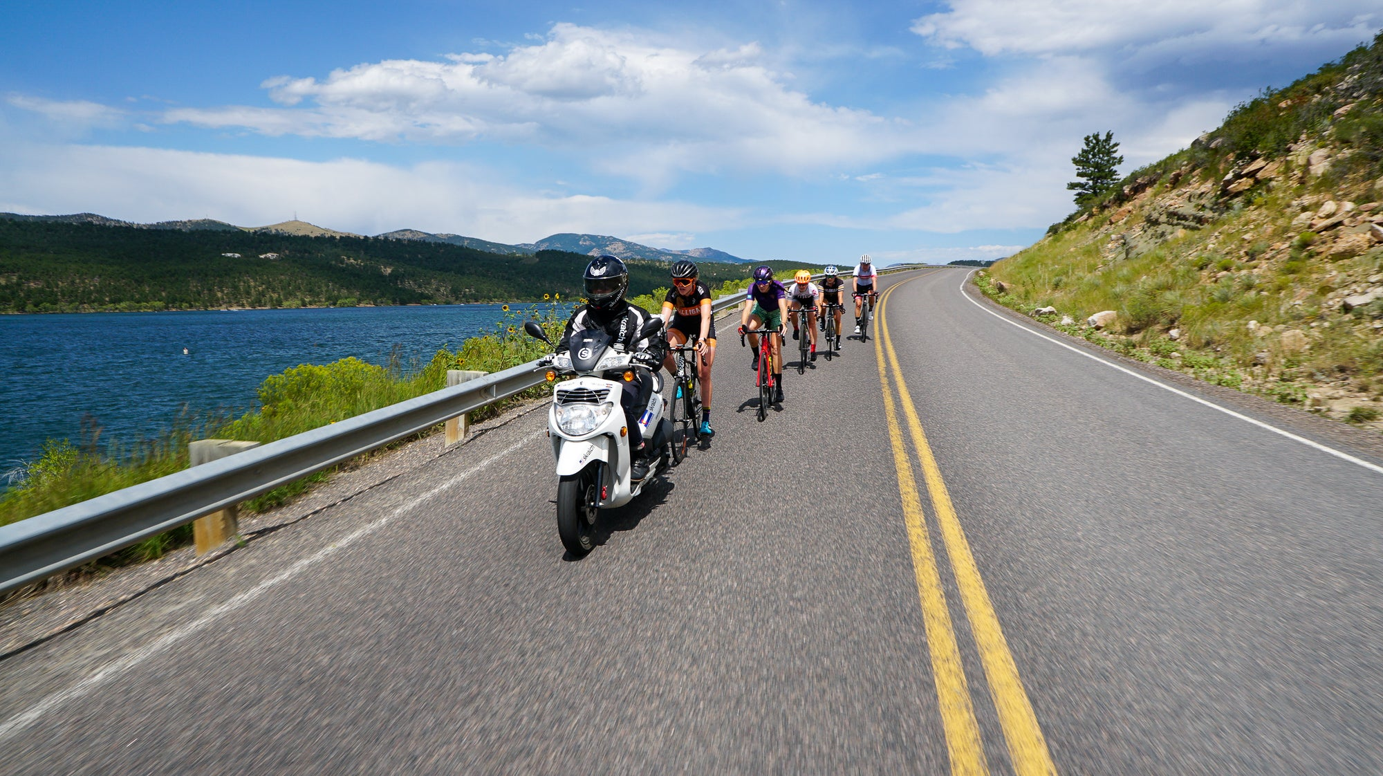 How WorldTour riders use motorpacing to simulate the demands of racing – VeloNews.com