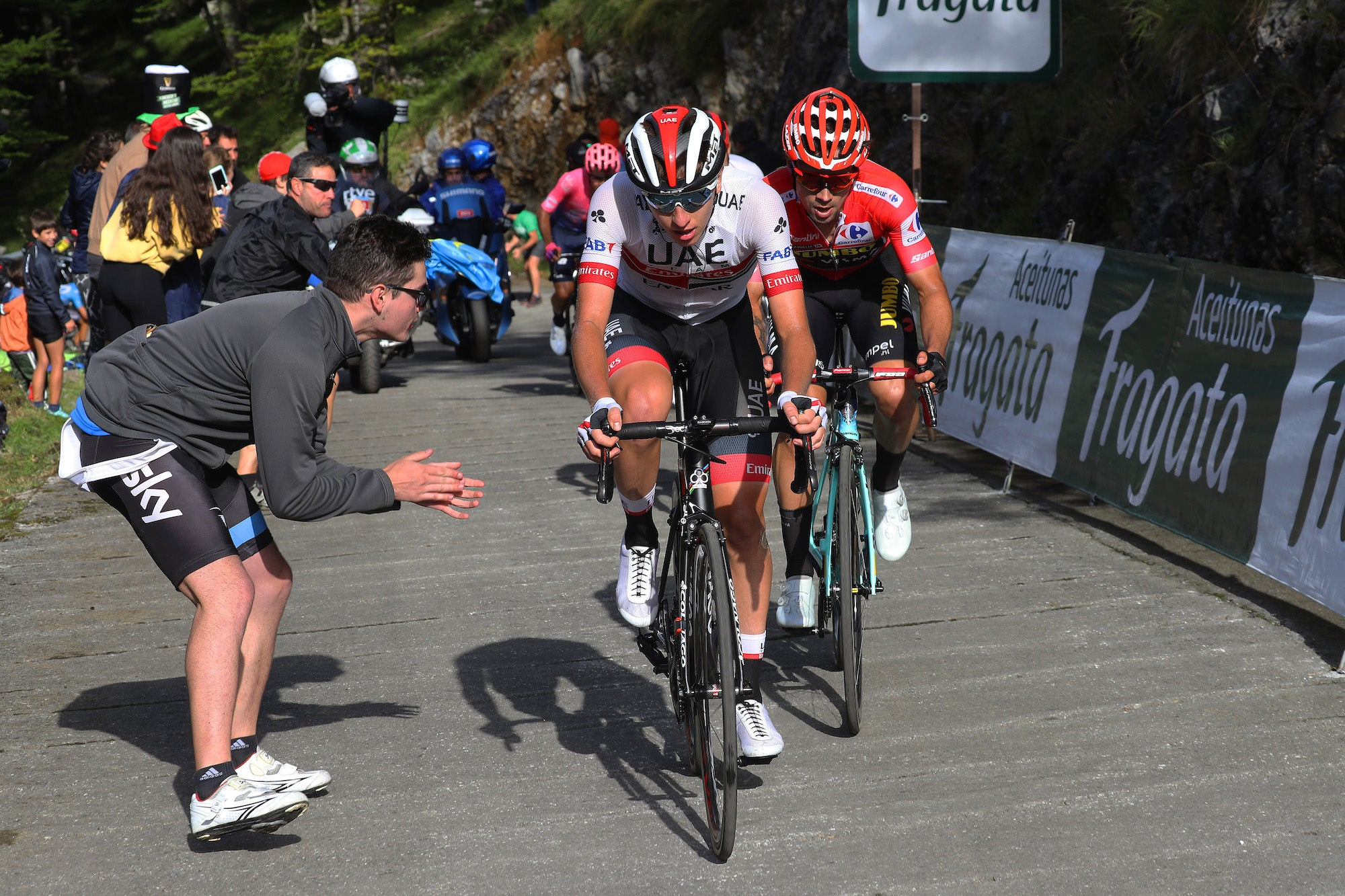 Tadej Pogacar Only 20 Takes Second Stage And Aims At Vuelta Podium Velonews Com