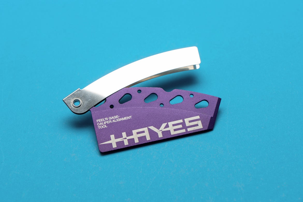 Hayes Feel/'r Gauge Disc Brake Pad and Rotor Alignment Tool