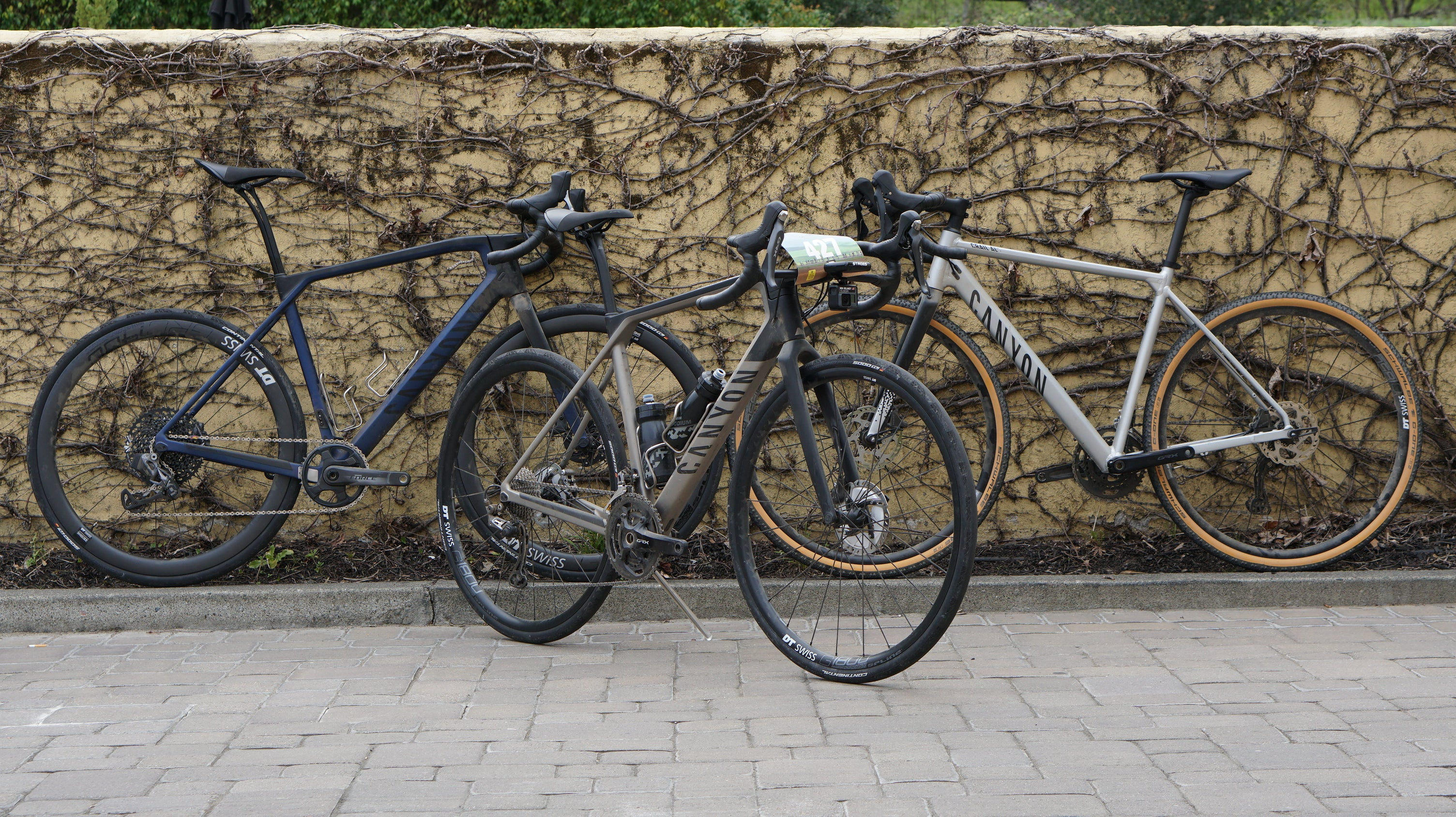 Reviews to come on the Canyon Grails. Photo: Ben Delaney | VeloNews