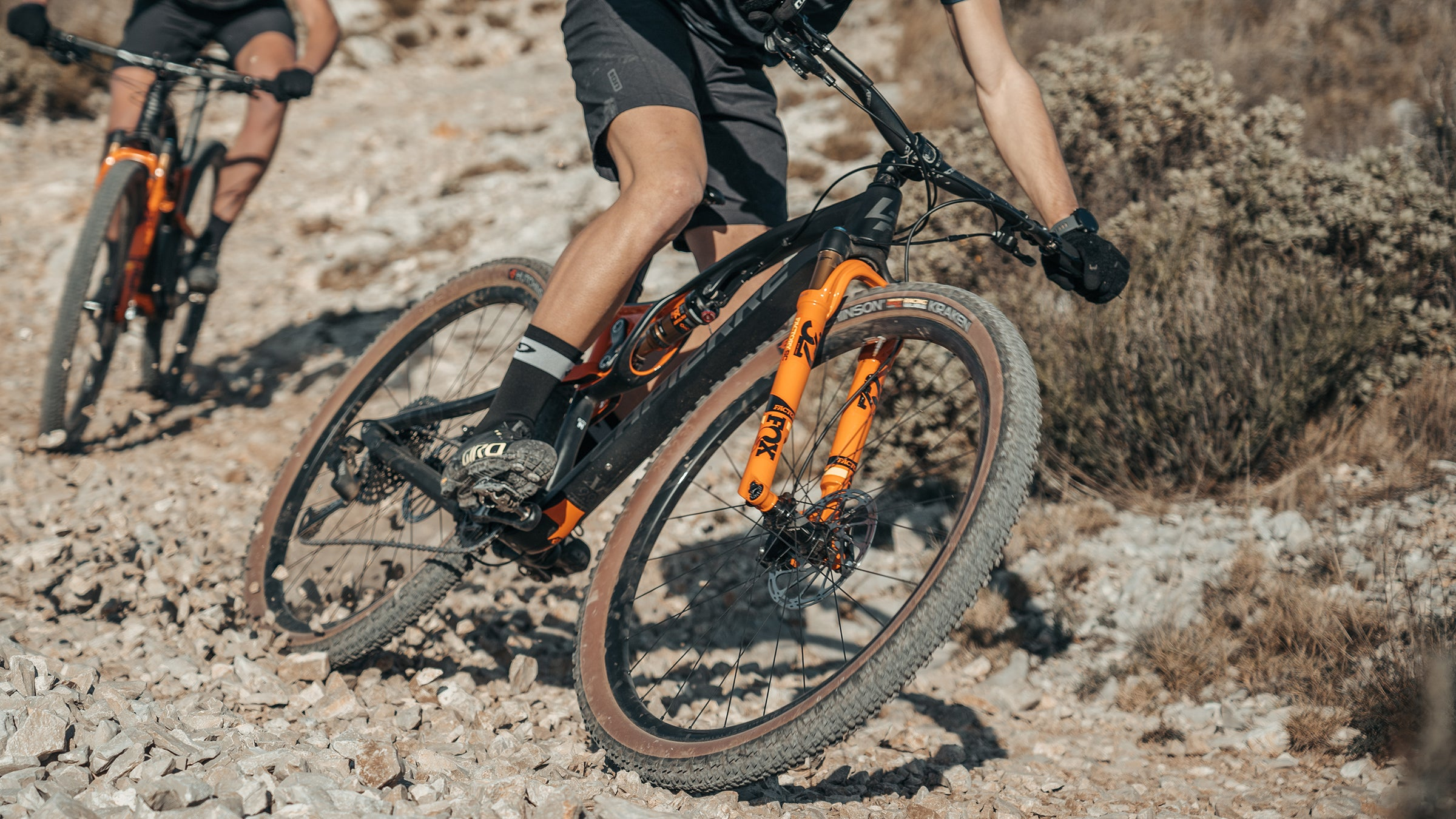 Hutchinson Tires Kraken delivers traction while cornering